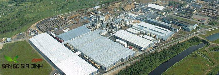 nhà máy sàn gỗ Kronostar