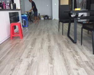 Dị ứng với sàn gỗ
