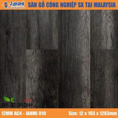 Sàn gỗ Janmi O19 12mm bản to