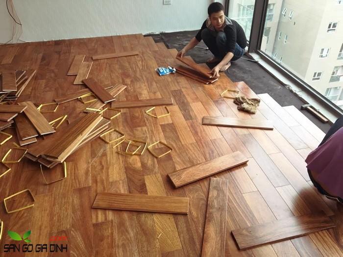 sàn gỗ tự nhiên ưu nhược điểm