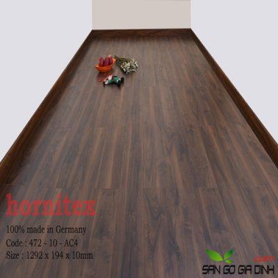 Sàn gỗ Hornitex 10mm mã 472