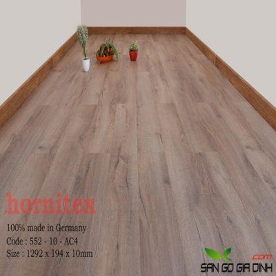 Sàn gỗ Hornitex 10mm mã 552