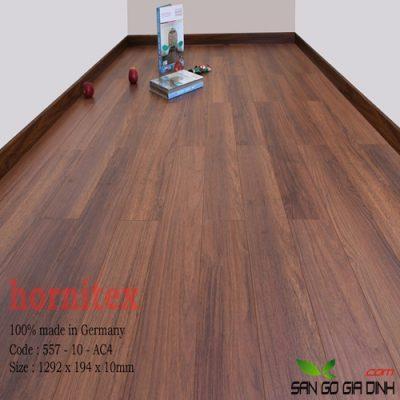 Sàn gỗ Hornitex 10mm mã 557