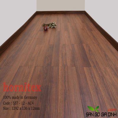Sàn gỗ Hornitex 12mm mã 557