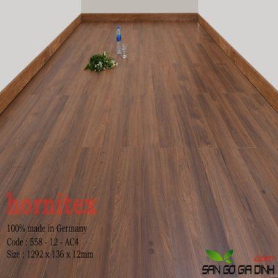 Sàn gỗ Hornitex 12mm mã 558