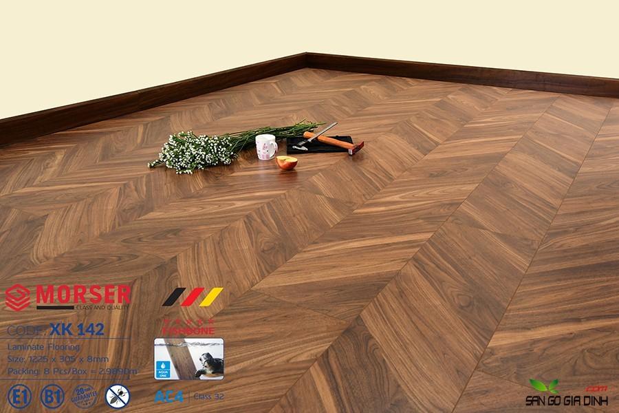 Sàn gỗ Morser Xương Cá XK142 2