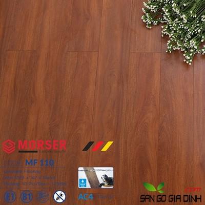 Sàn gỗ Morser cốt trắng 12mm MF110