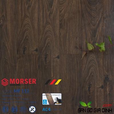 Sàn gỗ Morser cốt trắng 12mm MF112