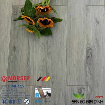 Sàn gỗ Morser cốt trắng 12mm MF115