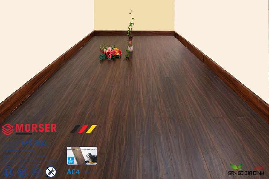 Sàn gỗ Morser cốt xanh 12mm Ms100 1