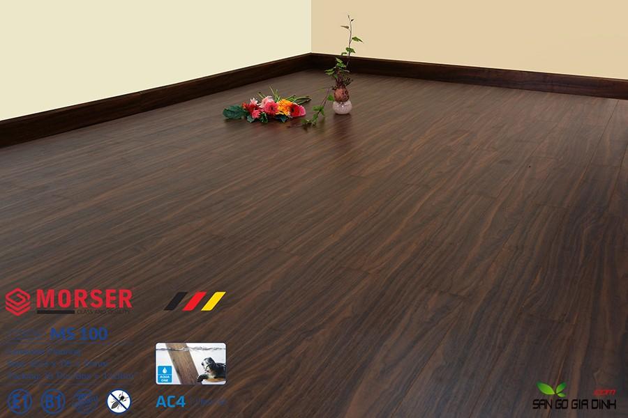 Sàn gỗ Morser cốt xanh 12mm Ms100 2