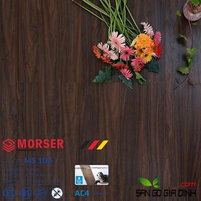 Sàn gỗ Morser cốt xanh 12mm Ms100