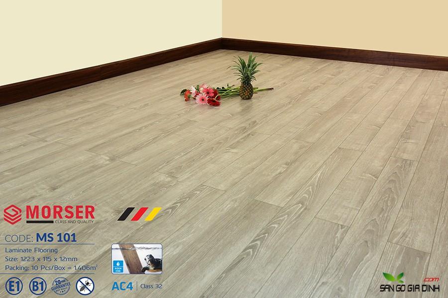 Sàn gỗ Morser cốt xanh 12mm Ms101 2