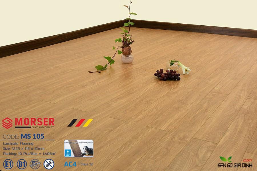 Sàn gỗ Morser cốt xanh 12mm Ms105 2
