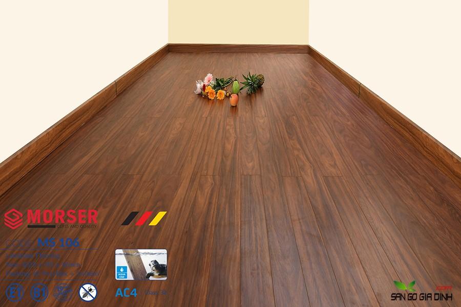 Sàn gỗ Morser cốt xanh 12mm Ms106 1