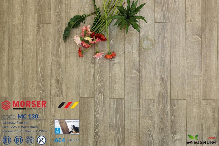 Sàn gỗ Morser cốt xanh 8mm MC130 2