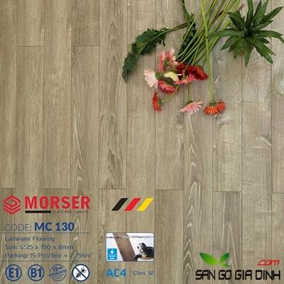Sàn gỗ Morser cốt xanh 8mm MC130