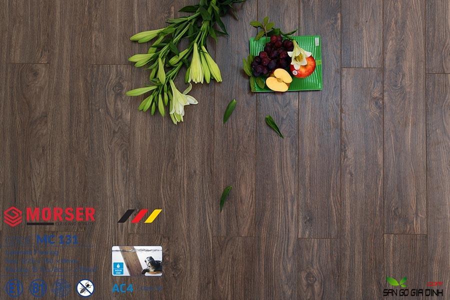 Sàn gỗ Morser cốt xanh 8mm MC131 2