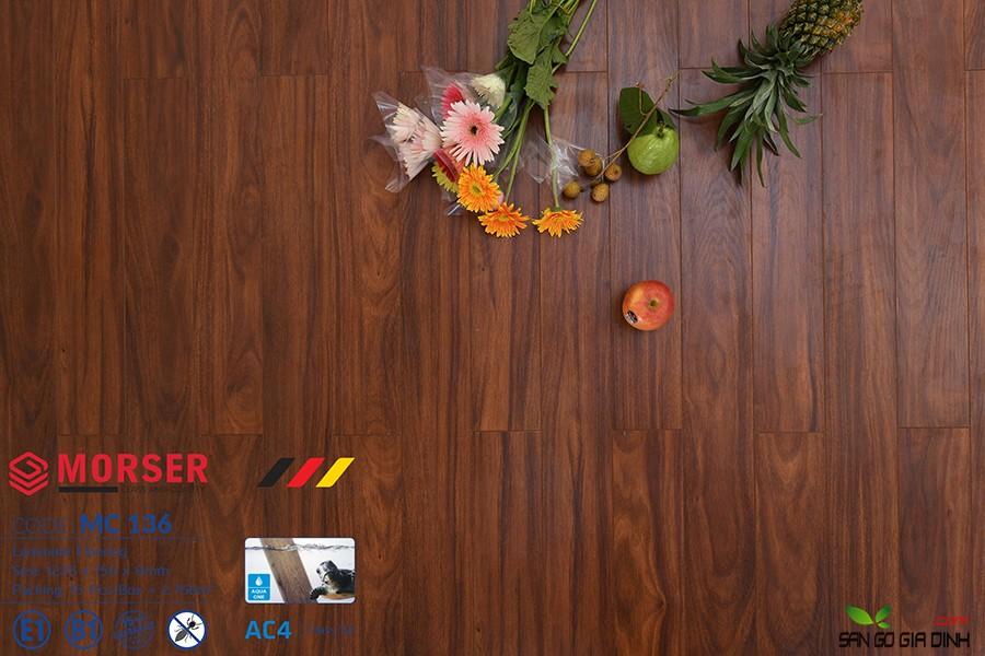 Sàn gỗ Morser cốt xanh 8mm MC136 2