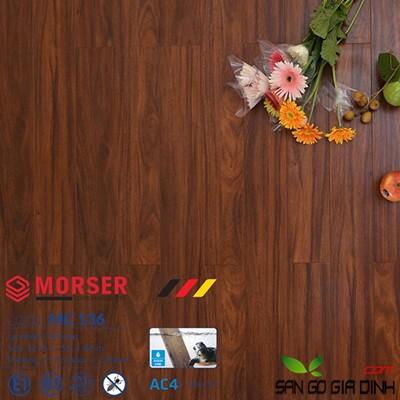 Sàn gỗ Morser cốt xanh 8mm MC136