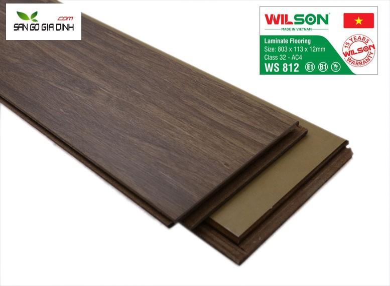 Sàn gỗ Wilson 107-12mm 2