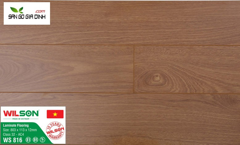 Sàn gỗ Wilson 6828-12mm