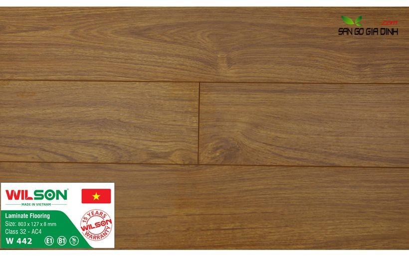 Sàn gỗ Wilson W442 - 8mm 1
