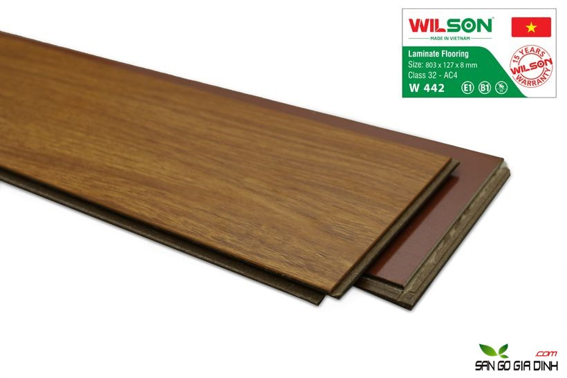 Sàn gỗ Wilson W442 - 8mm 3