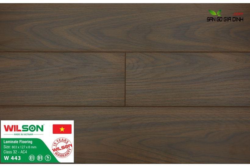 Sàn gỗ Wilson W443 - 8mm 1
