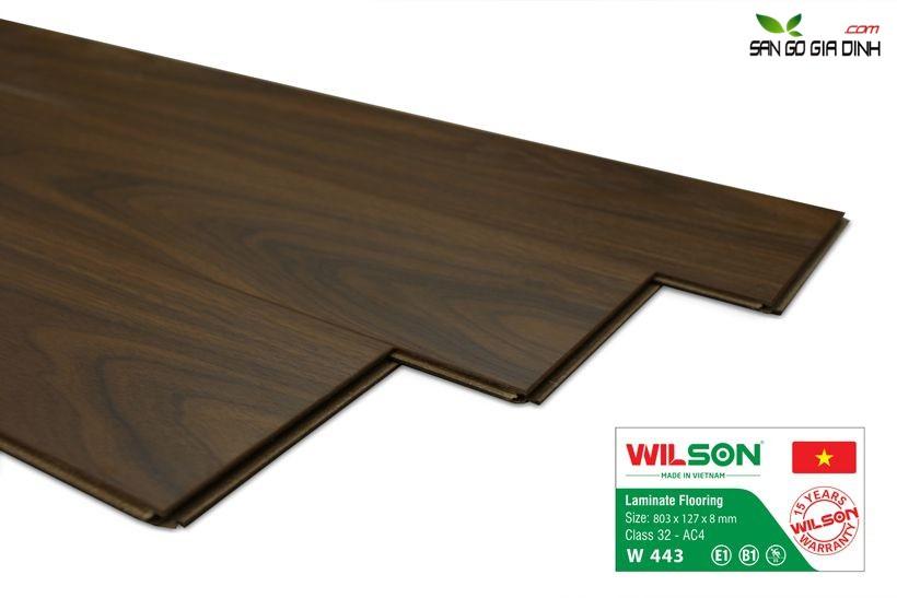 Sàn gỗ Wilson W443 - 8mm 2