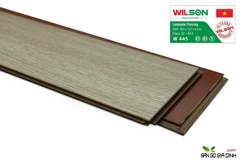Sàn gỗ Wilson W445 - 8mm 3