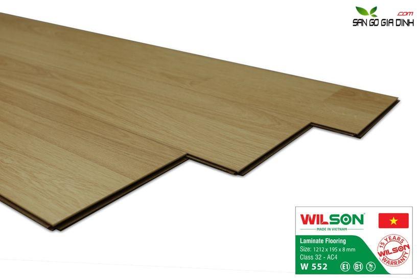 Sàn gỗ Wilson W552 - 8mm 2