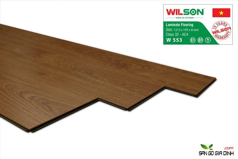 Sàn gỗ Wilson W553 - 8mm 2