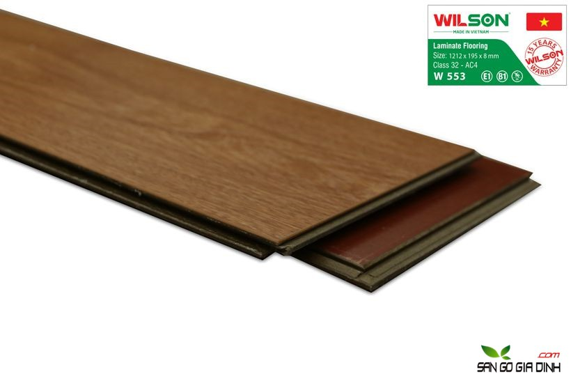 Sàn gỗ Wilson W553 - 8mm 3