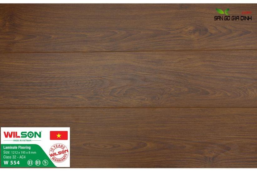 Sàn gỗ Wilson W554 - 8mm 1