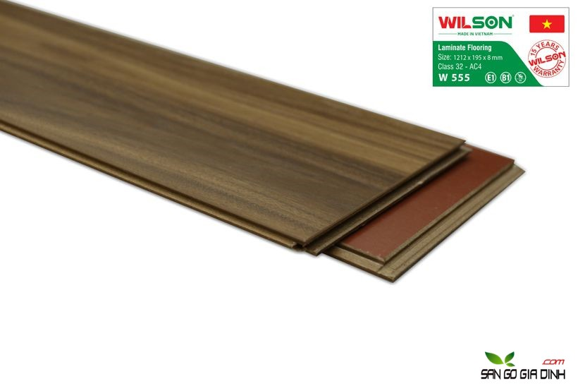 Sàn gỗ Wilson W555 - 8mm 3