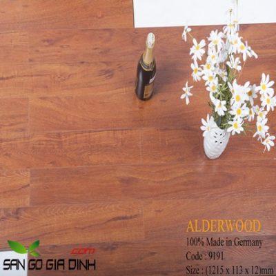 Sàn gỗ Alder 9191 bản nhỏ 12mm