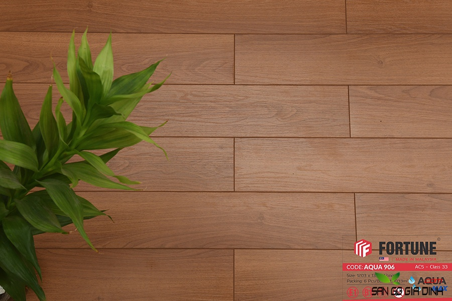 Sàn gỗ Fortune 12mm 906-3