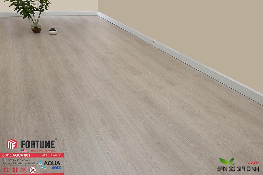 Sàn gỗ Fortune 8mm 801