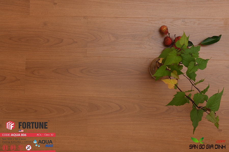 Sàn gỗ Fortune 8mm 806-3