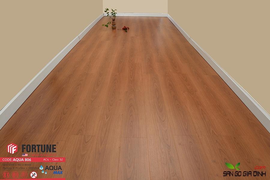 Sàn gỗ Fortune 8mm 806-4