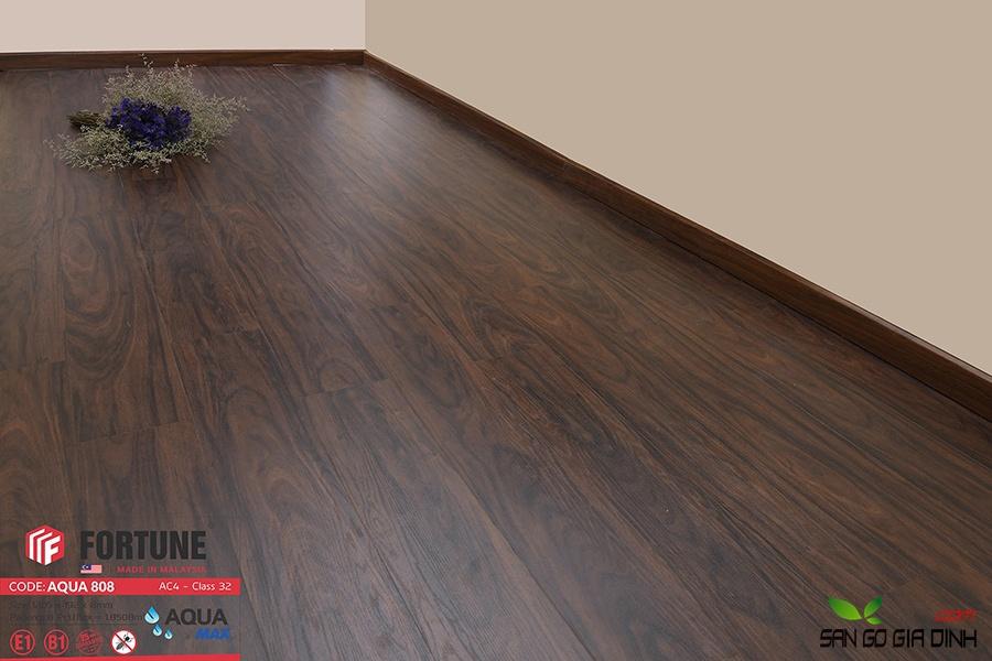Sàn gỗ Fortune 8mm 808-2