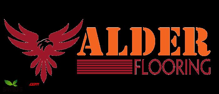 Logo thương hiệu sàn gỗ Alder floor