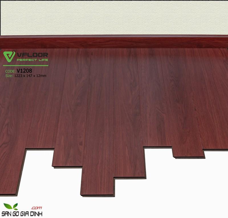 Sàn gỗ Vfloor 1208