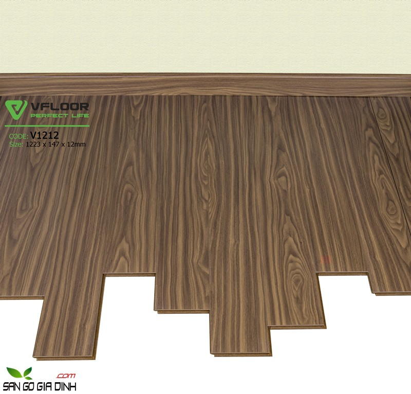 Sàn gỗ Vfloor 1212