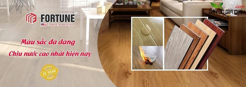 Sàn gỗ Fortune nhập khẩu Malaysia