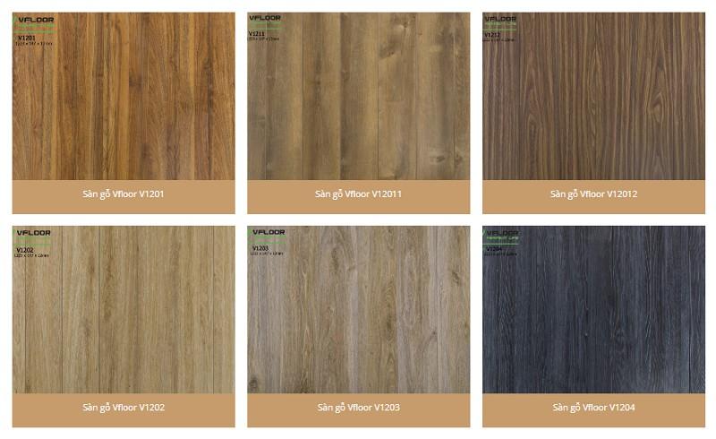 Sàn gỗ Vfloor các sản phẩm dòng hàng