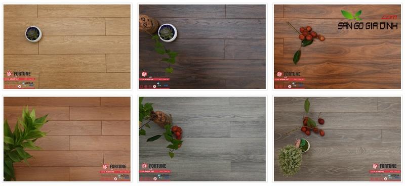 Sàn gỗ công nghiệp Fortune