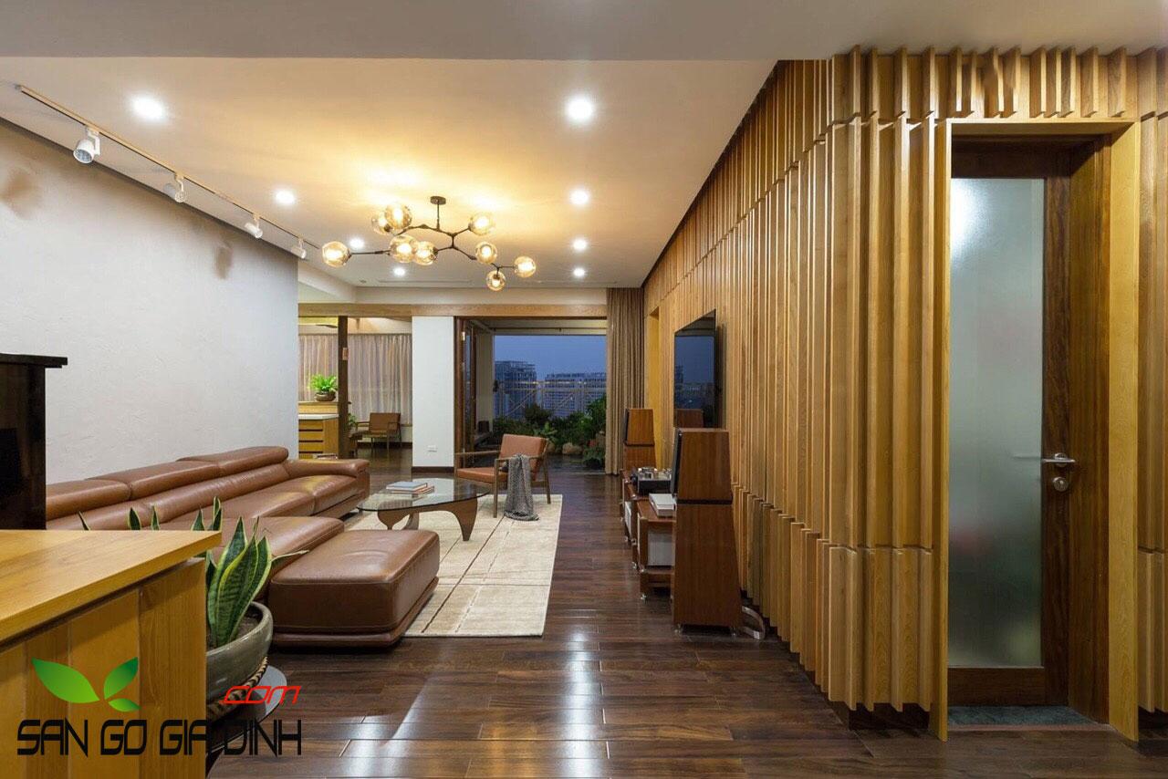 Sàn gỗ Chiu Liu Lào 2