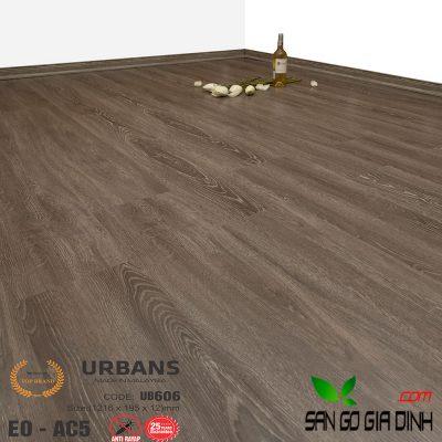 Sàn gỗ UrbansFloor 12mm UB606